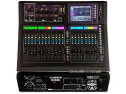 Location d 39 une console de mixage num rique compacte allen heath gld 80 location de sono et d - Console de mixage numerique ...